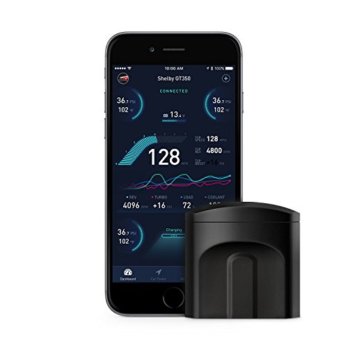 nonda ZUS Smart Vehicle Health Monitor, Wireless OBD2 Car Code Reader Scan Tool, OBD with App, World's First Predictive Safety Center Analyzing Historical Engine Data for Potential Issues