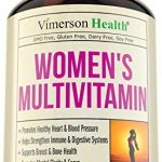 Women's Daily Multivitamin/Multimineral Supplement – Rich In Vitamins & Minerals. Green Tea, Magnesium, Biotin, Zinc, Calcium. Antioxidant For Women. Heart & Breast Health. Gluten Free Multivitamins