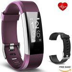 bicol Fitness Tracker HR,IP67 Waterproof Activity Tracker with Heart Rate Monitor for Kids Girls Women Men,Smart Watch Wristband Bracelet with Calorie Counter Pedometer Sleep Monitor