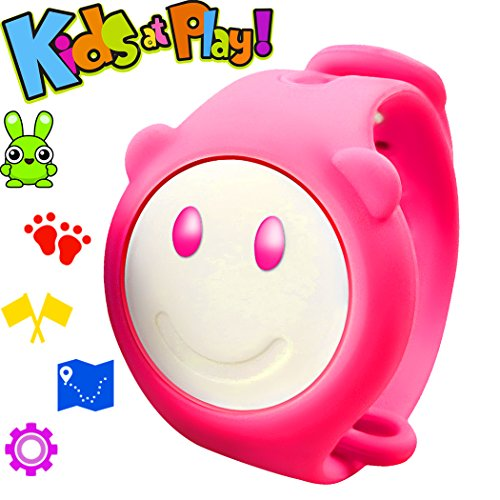 GBD Kids Sport Fitness Tracker Smart Bracelet for Boys Girls Birthday Summer Vacation Gifts with Pedometer Health Activity Wristband Calories Counter APP Control for Android IOS Smartphone (Pink)