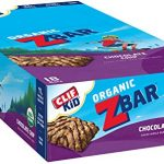 CLIF KID ZBAR – Organic Energy Bar – Chocolate Chip – Baked Whole Grain Energy Snack Bar 1.27 Ounce Snack Bar, 18 Count