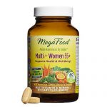 MegaFood – Multi for Women 55+, Multivitamin Support for Cardiovascular and Bone Health, Cognition, and Mood Balance with Methylated Folate and B12, Vegetarian, Gluten-Free, Non-GMO, 60 Tablets (FFP)