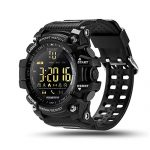 ROADTEC Sport Smart Watches for Men,Bluetooth 4.0 Fitness Tracker Watch 5ATM IP67 Waterproof Support Call SMS Notification Pedometer Remote Camera for IOS Android (Black)