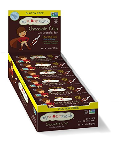 MySuperSnacks, Chocolate Chip Granola Bars (18 count)