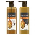 Hair Food Moisture Shampoo & Conditioner Set Infused With Honey Apricot Fragrance, 17.9 fl oz (Each)