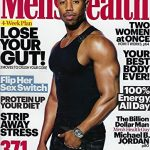 (FREE SHIPPING) Men's Health May 2018 Michael B Jordon