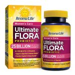 Renew Life – Ultimate Flora Probiotic Women's Care – 25 billion – probiotics for women – daily digestive and immune health supplement – 30 vegetable capsules