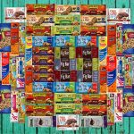 Ultimate Healthy Office Bars, Snacks & Nuts Bulk Variety Pack – Travel Snack Box – Military Care Package (60 Count)