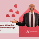 Give a particular current for Valentine's Day … from me!