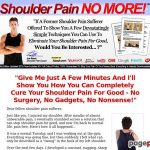 Shoulder Ache No Extra ™: High Shoulder Ache Therapeutic Product On CB