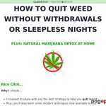 Give up Weed – Give up Weed With Tristan Weatherburn