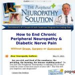 The Neuropathy Resolution Solves Your Peripherhal Neuropathy Ache