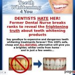 Tooth Whitening Four You – Learn how to Whiten Your Tooth Simply, Naturally & Endlessly!