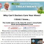 Hives Urticaria & Angioedema Therapy Protocol | Remedy & Aid