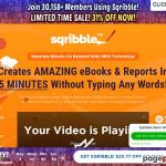 Sqribble 2021 | Worlds #1 Book Creator | Up To $500 A Buyer!